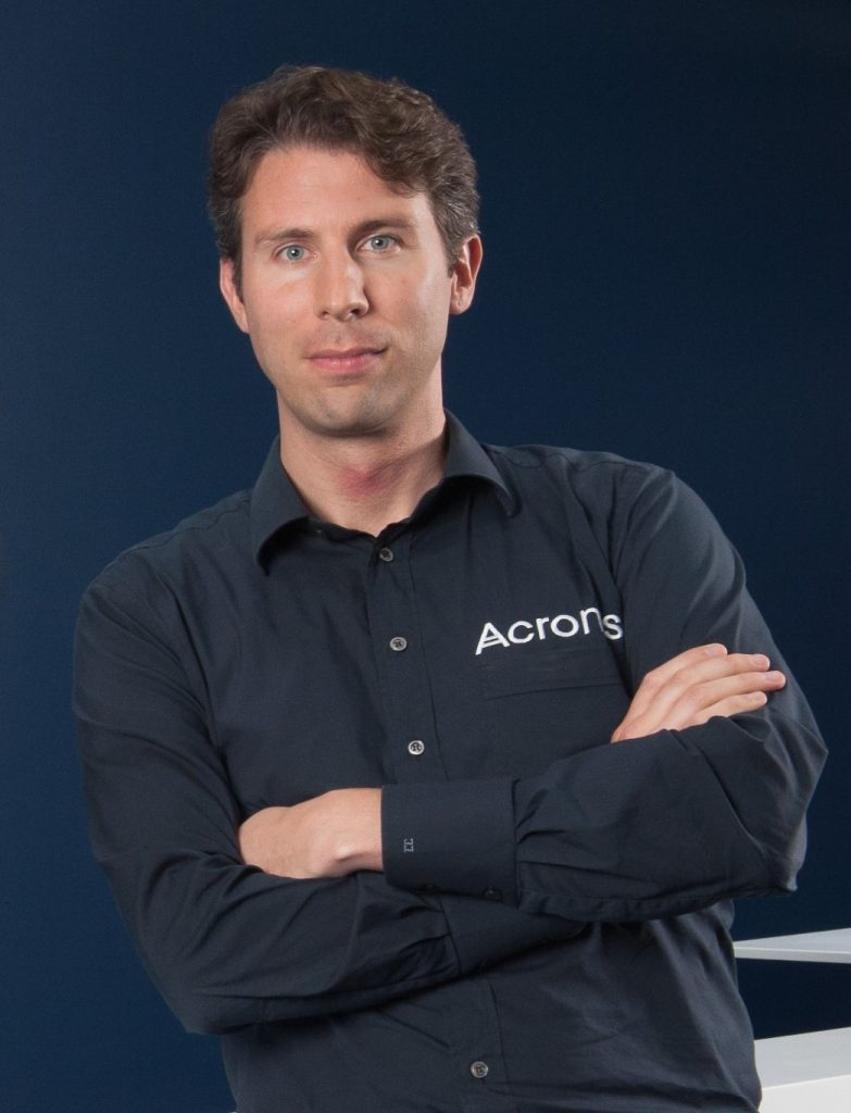 Jan-Jaap Jager, Board Advisor and CRO of Acronis